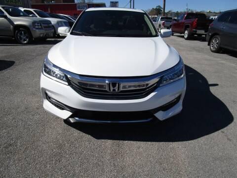 2017 Honda Accord for sale at DERIK HARE in Milton FL