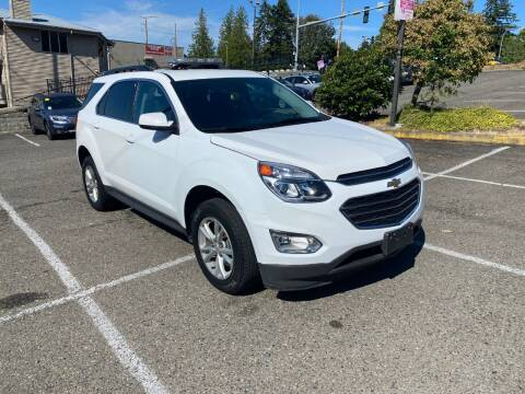 2016 Chevrolet Equinox for sale at KARMA AUTO SALES in Federal Way WA
