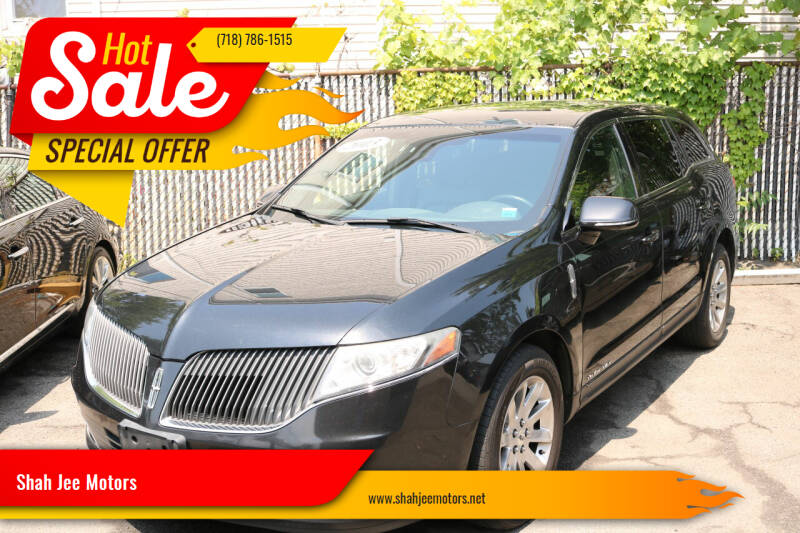 2013 Lincoln MKT Town Car for sale at Shah Jee Motors in Woodside NY