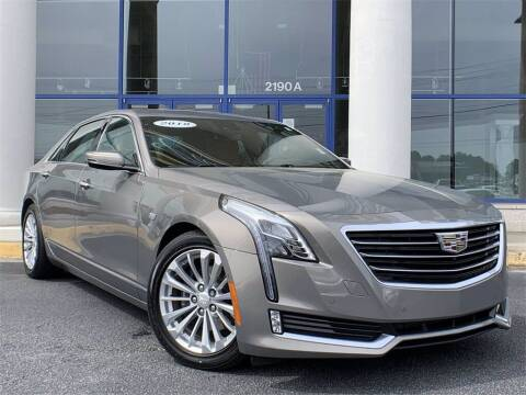 2018 Cadillac CT6 Plug-In Hybrid for sale at Capital Cadillac of Atlanta in Smyrna GA