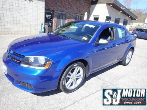 2014 Dodge Avenger for sale at S & J Motor Co Inc. in Merrimack NH