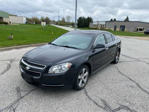 2012 Chevrolet Malibu for sale at JE Autoworks LLC in Willoughby OH
