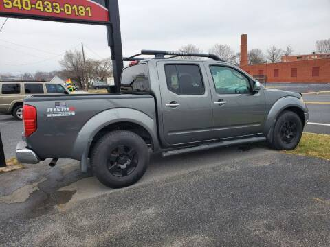 2007 Nissan Frontier for sale at Boris Auto Sales & Repairs in Harrisonburg VA