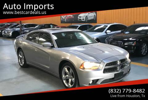 2011 Dodge Charger for sale at Auto Imports in Houston TX