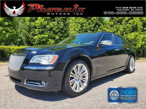 2014 Chrysler 300 for sale at Phoenix Motors Inc in Raleigh NC