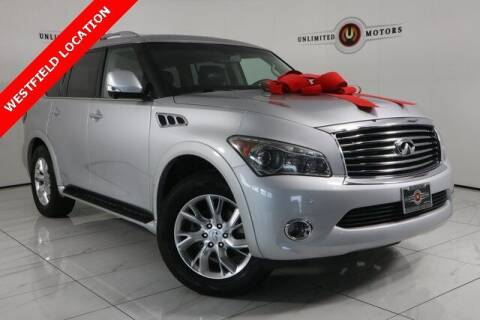 2013 Infiniti QX56 for sale at INDY'S UNLIMITED MOTORS - UNLIMITED MOTORS in Westfield IN