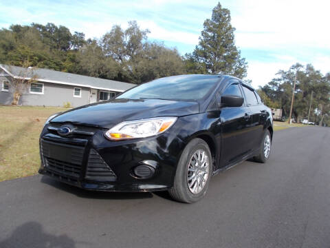 2013 Ford Focus for sale at LANCASTER'S AUTO SALES INC in Fruitland Park FL