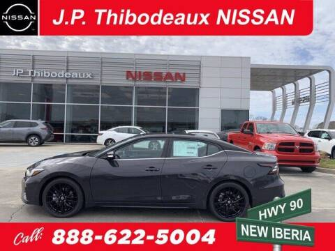 2021 Nissan Maxima for sale at J P Thibodeaux Used Cars in New Iberia LA