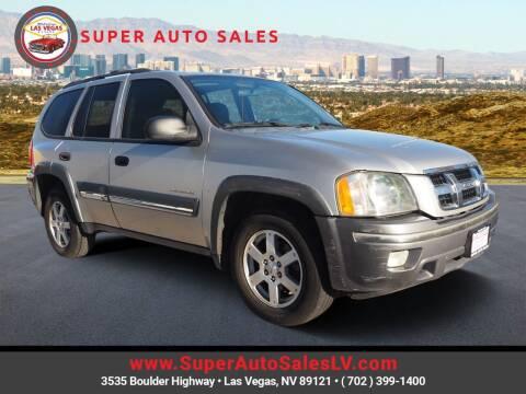 2004 Isuzu Ascender for sale at Super Auto Sales in Las Vegas NV
