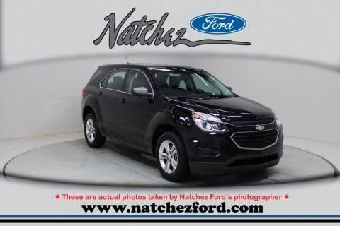 2017 Chevrolet Equinox for sale at Auto Group South - Natchez Ford Lincoln in Natchez MS