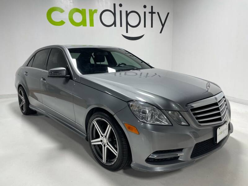 2013 Mercedes-Benz E-Class for sale at Cardipity in Dallas TX