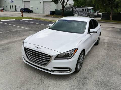 2018 Genesis G80 for sale at Best Price Car Dealer in Hallandale Beach FL