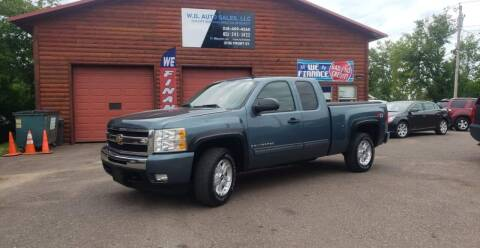 2009 Chevrolet Silverado 1500 for sale at WB Auto Sales LLC in Barnum MN