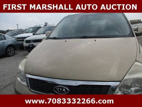 2011 Kia Sedona for sale at First Marshall Auto Auction in Harvey IL