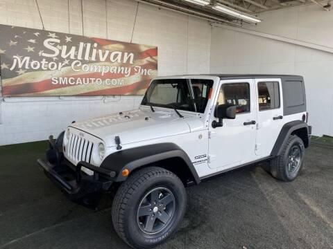 2010 Jeep Wrangler Unlimited for sale at TrucksForWork.net in Mesa AZ