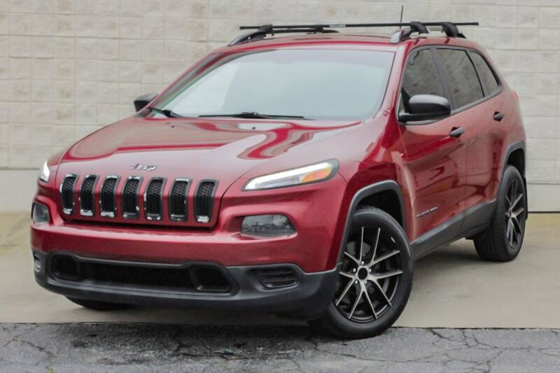 2016 Jeep Cherokee for sale at Cannon Auto Sales in Newberry SC