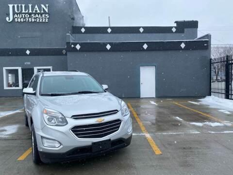 2017 Chevrolet Equinox for sale at Julian Auto Sales, Inc. in Warren MI