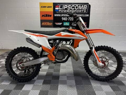 2019 KTM 125 SX for sale at Lipscomb Powersports in Wichita Falls TX