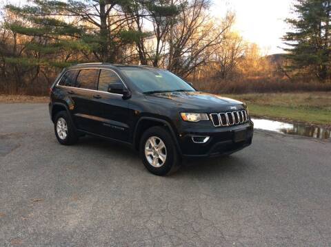 2017 Jeep Grand Cherokee for sale at Route 102 Auto Sales  and Service in Lee MA
