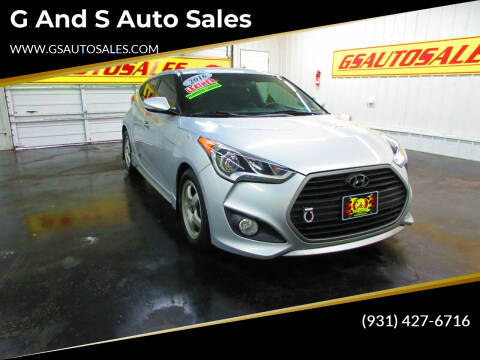 2016 Hyundai Veloster for sale at G and S Auto Sales in Ardmore TN