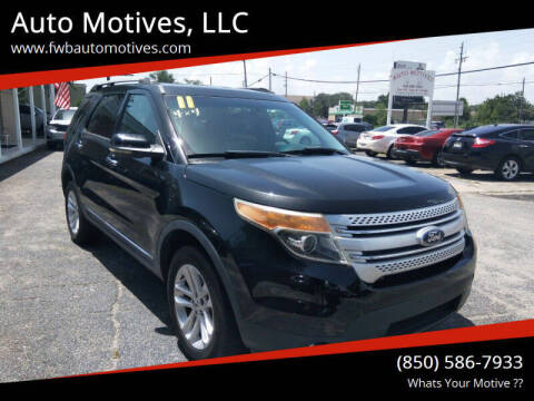 2011 Ford Explorer for sale at Auto Motives, LLC in Fort Walton Beach FL