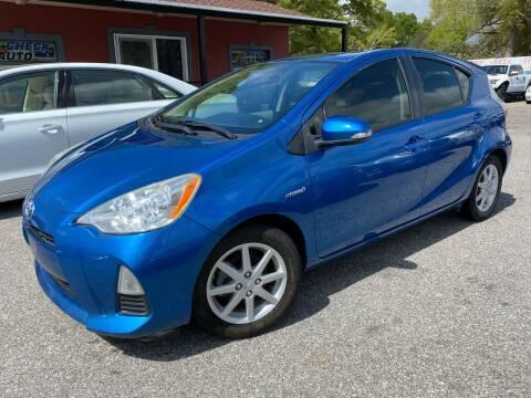 2013 Toyota Prius c for sale at CHECK  AUTO INC. in Tampa FL