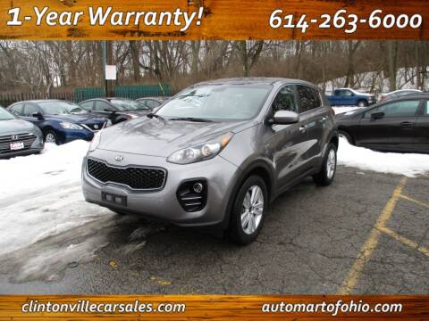 2017 Kia Sportage for sale at Clintonville Car Sales - AutoMart of Ohio in Columbus OH