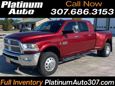 2015 RAM Ram Pickup 3500 for sale at Platinum Auto in Gillette WY