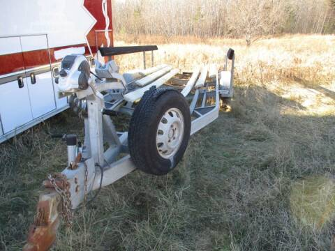 1985 24ft Boat Trailer Tandem Axle for sale at D & T AUTO INC in Columbus MN
