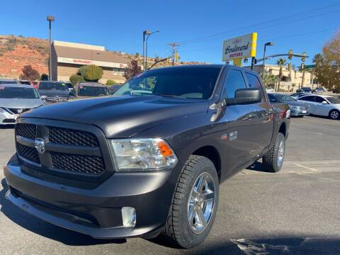 2014 RAM Ram Pickup 1500 for sale at Boulevard Motors in St George UT