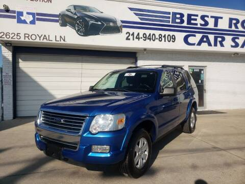 2010 Ford Explorer for sale at Best Royal Car Sales in Dallas TX