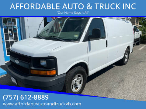 2008 Chevrolet Express Cargo for sale at AFFORDABLE AUTO & TRUCK INC in Virginia Beach VA