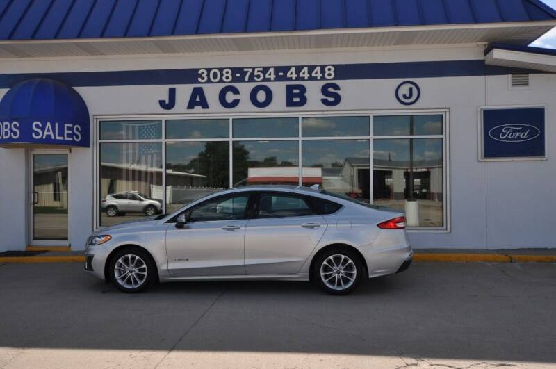 2019 Ford Fusion Hybrid for sale at Jacobs Ford in Saint Paul NE