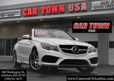 2015 Mercedes-Benz E-Class for sale at Car Town USA in Attleboro MA