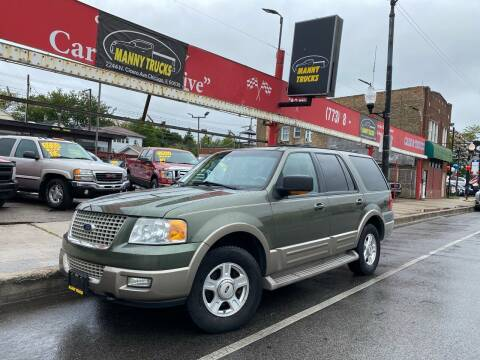 2003 Ford Expedition for sale at Manny Trucks in Chicago IL