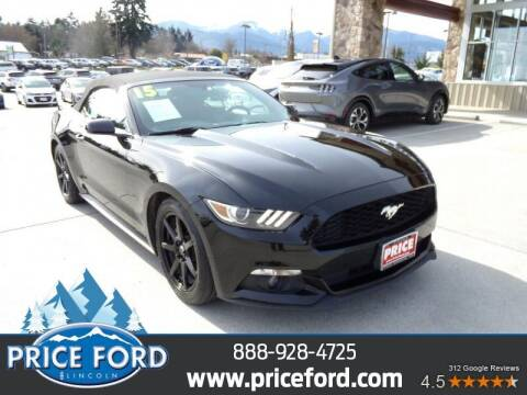 2015 Ford Mustang for sale at Price Ford Lincoln in Port Angeles WA