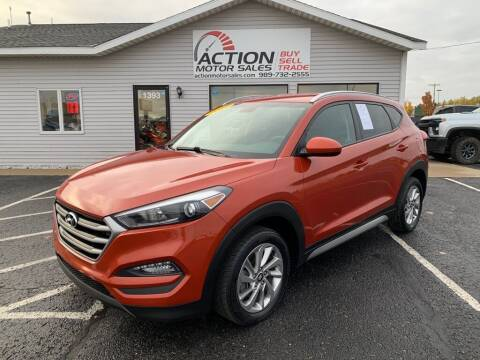 2017 Hyundai Tucson for sale at Action Motor Sales in Gaylord MI