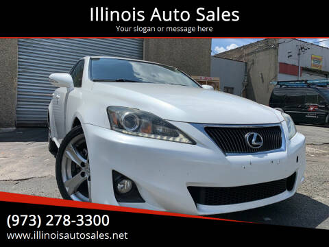 2012 Lexus IS 250 for sale at Illinois Auto Sales in Paterson NJ