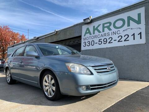 2007 Toyota Avalon for sale at Akron Motorcars Inc. in Akron OH