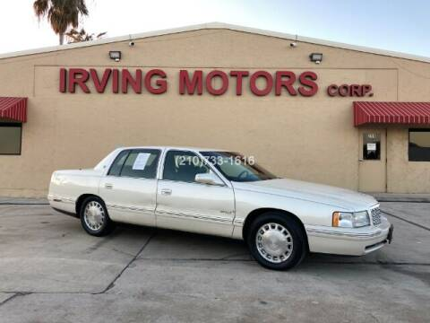 1997 Cadillac DeVille for sale at Irving Motors Corp in San Antonio TX