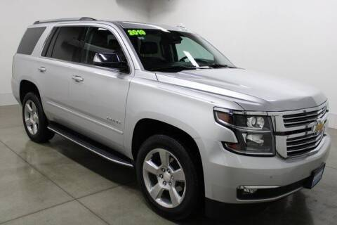 2019 Chevrolet Tahoe for sale at Bob Clapper Automotive, Inc in Janesville WI