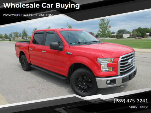 2016 Ford F-150 for sale at Wholesale Car Buying in Saginaw MI