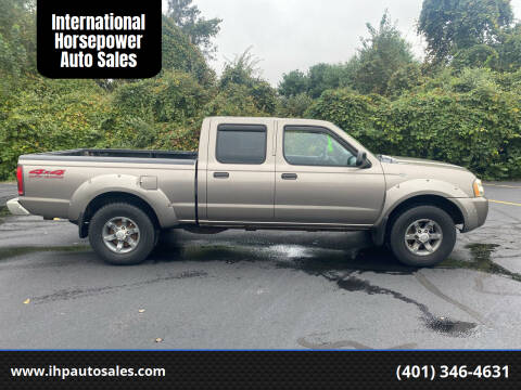 2004 Nissan Frontier for sale at International Horsepower Auto Sales in Warwick RI