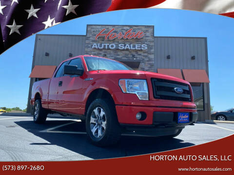 2014 Ford F-150 for sale at HORTON AUTO SALES, LLC in Linn MO