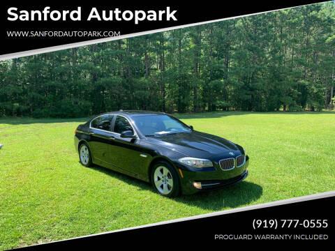 2011 BMW 5 Series for sale at Sanford Autopark in Sanford NC