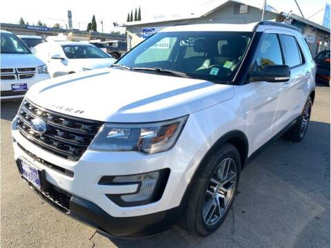 2017 Ford Explorer for sale at AutoDeals in Hayward CA