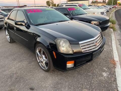 2005 Cadillac CTS for sale at BELOW BOOK AUTO SALES in Idaho Falls ID