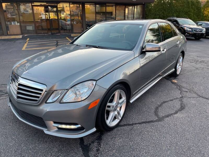 2013 Mercedes-Benz E-Class for sale at Premier Automart in Milford MA