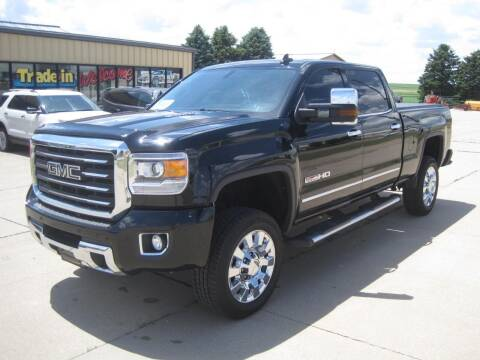 2016 GMC Sierra 2500HD for sale at IVERSON'S CAR SALES in Canton SD