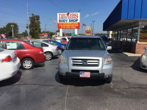 2006 Honda Pilot for sale at Deckers Auto Sales Inc in Fayetteville NC